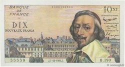 10 Nouveaux Francs RICHELIEU FRANCE  1961 F.57.16 SUP
