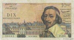 10 Nouveaux Francs RICHELIEU FRANCE  1962 F.57.19 pr.TB