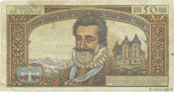 50 Nouveaux Francs HENRI IV FRANCE  1959 F.58.01 B+