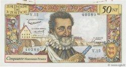 50 Nouveaux Francs HENRI IV FRANCE  1959 F.58.02 SUP