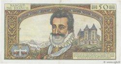 50 Nouveaux Francs HENRI IV FRANCE  1959 F.58.02 TTB+