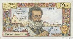 50 Nouveaux Francs HENRI IV FRANCE  1959 F.58.03 TB