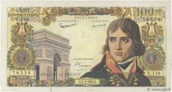 100 Nouveaux Francs BONAPARTE FRANCE  1961 F.59.11 TB à TTB