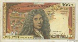 500 Nouveaux Francs MOLIÈRE FRANCE  1964 F.60.06 TB+