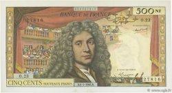 500 Nouveaux Francs MOLIÈRE FRANCE  1966 F.60.09 SUP+