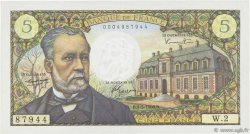 5 Francs PASTEUR FRANCE  1966 F.61.01 pr.SUP