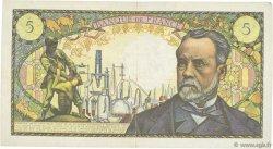 5 Francs PASTEUR FRANCE  1966 F.61.02 pr.TTB