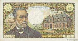 5 Francs PASTEUR FRANCE  1966 F.61.02 TTB