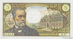 5 Francs PASTEUR FRANCE  1966 F.61.03 pr.SUP