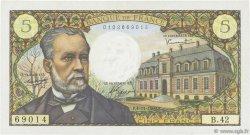 5 Francs PASTEUR FRANCE  1966 F.61.04 TTB+