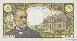 5 Francs PASTEUR FRANCE  1966 F.61.04 TTB