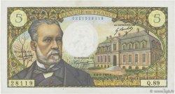 5 Francs PASTEUR FRANCE  1969 F.61.09 SUP à SPL