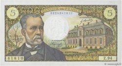 5 Francs PASTEUR FRANCE  1969 F.61.09 SUP+