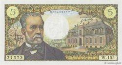 5 Francs PASTEUR FRANCE  1969 F.61.10 TTB+