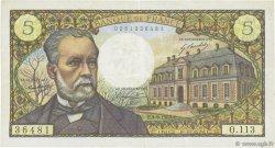 5 Francs PASTEUR FRANCE  1969 F.61.11 TTB