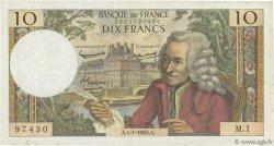 10 Francs VOLTAIRE FRANCE  1963 F.62.01 TB+