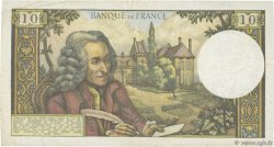 10 Francs VOLTAIRE FRANCE  1963 F.62.01 TB+