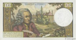 10 Francs VOLTAIRE FRANCE  1964 F.62.09 SUP