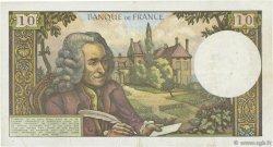 10 Francs VOLTAIRE FRANCE  1967 F.62.24 TTB