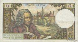 10 Francs VOLTAIRE FRANCE  1967 F.62.24 pr.TTB
