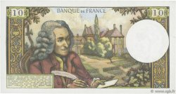 10 Francs VOLTAIRE FRANCE  1970 F.62.45 SUP