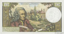 10 Francs VOLTAIRE  FRANCE  1971 F.62.49 SUP