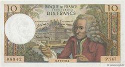 10 Francs VOLTAIRE FRANCE  1972 F.62.54 TTB