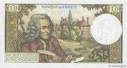 10 Francs VOLTAIRE FRANCE  1972 F.62.55 SUP+