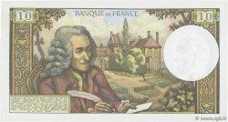 10 Francs VOLTAIRE FRANCE  1972 F.62.56 pr.SPL