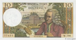 10 Francs VOLTAIRE FRANCE  1972 F.62.57 SPL
