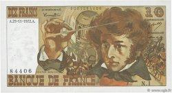 10 Francs BERLIOZ FRANCE  1972 F.63.01 SUP