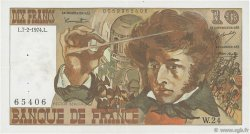 10 Francs BERLIOZ FRANCE  1974 F.63.03 SUP