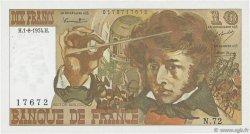 10 Francs BERLIOZ FRANCE  1974 F.63.06 SUP