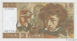 10 Francs BERLIOZ FRANCE  1974 F.63.06 SPL