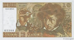 10 Francs BERLIOZ FRANCE  1975 F.63.09 SPL