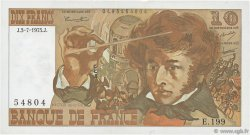 10 Francs BERLIOZ FRANCE  1975 F.63.11 TTB