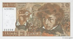 10 Francs BERLIOZ FRANCE  1975 F.63.12 TTB