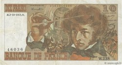 10 Francs BERLIOZ FRANCE  1975 F.63.13 TB