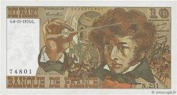 10 Francs BERLIOZ FRANCE  1975 F.63.14 SUP