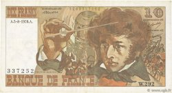 10 Francs BERLIOZ FRANCE  1976 F.63.20 TTB