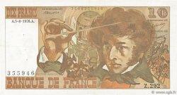 10 Francs BERLIOZ FRANCE  1976 F.63.20 TTB
