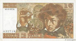10 Francs BERLIOZ FRANCE  1977 F.63.22 TTB+