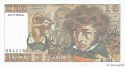 10 Francs BERLIOZ FRANCE  1978 F.63.23 pr.SPL
