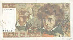 10 Francs BERLIOZ FRANCE  1978 F.63.23 TB