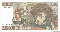 10 Francs BERLIOZ FRANCE  1978 F.63.24 SUP