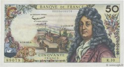 50 Francs RACINE FRANCE  1962 F.64.01