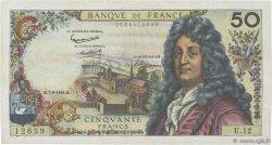 50 Francs RACINE FRANCE  1962 F.64.01 pr.TTB