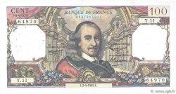 100 Francs CORNEILLE FRANCE  1964 F.65.01 pr.TTB