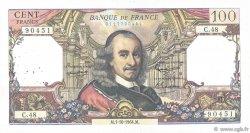 100 Francs CORNEILLE FRANCE  1964 F.65.04 TB