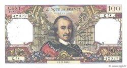100 Francs CORNEILLE FRANCE  1964 F.65.05 TB+